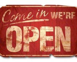 Мы открылись!