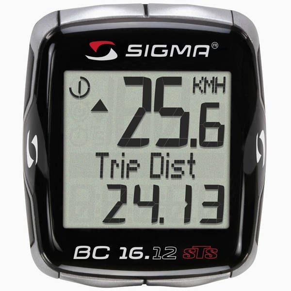 Велокомпьютер Sigma Sport BC 16.12 STS