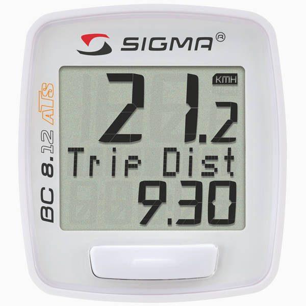 Велокомпьютер Sigma Sport BC 8.12 ATS